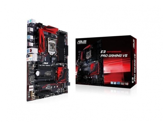 Asus announces E3 Pro Gaming V5 Intel Xeon motherboard