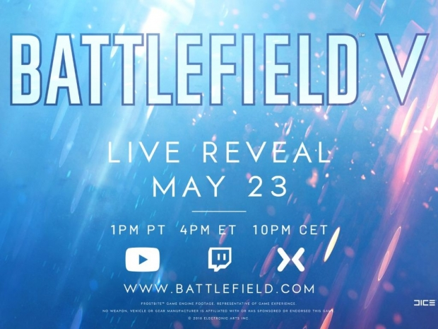 Battlefield 5 unveil scheduled for May 23rd
