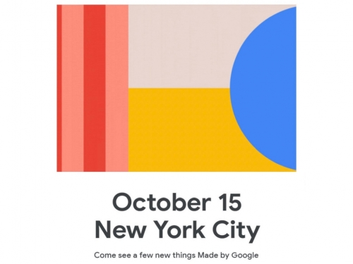 Google sends out press invites for October 15th event