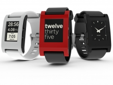 Pebble rocks kickstarter again