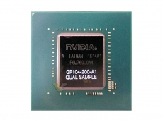 Nvidia GTX 1070 GP104-200 Pascal ASIC pictured