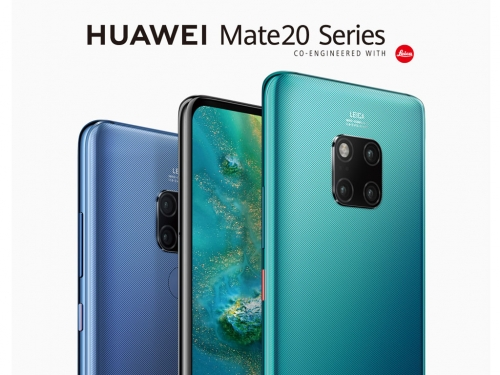 Huawei unveils Mate 20 and Mate 20 Pro flagship smartphones