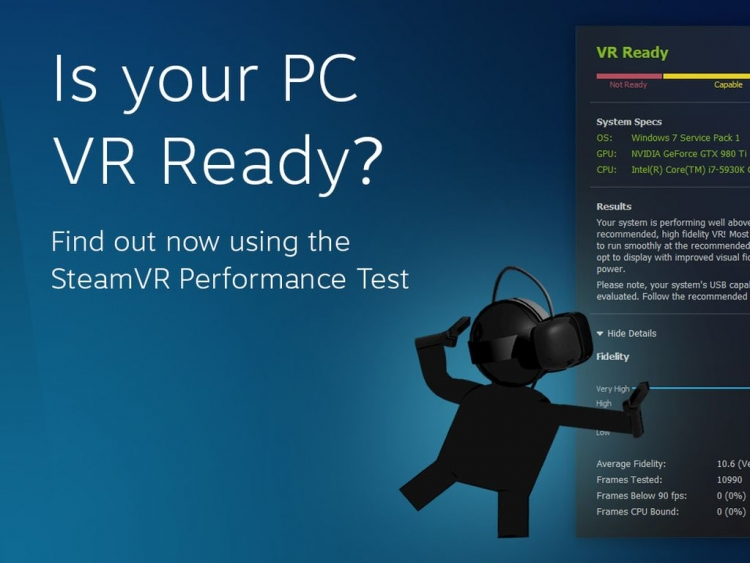 Valve releases SteamVR Performance Test benchmark