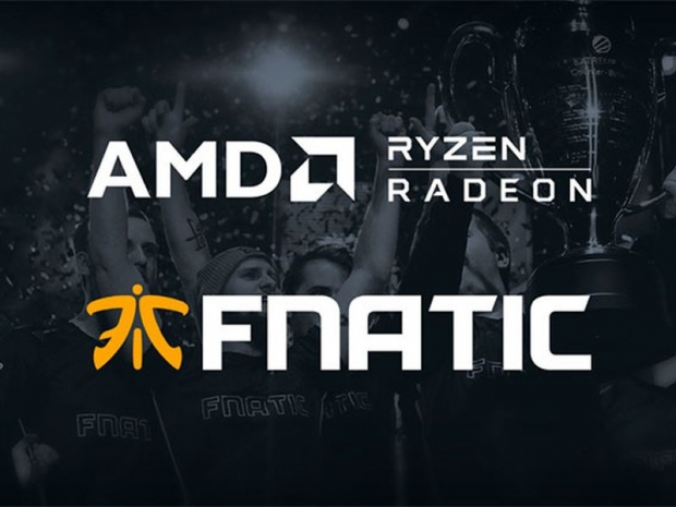 AMD signs new sponsorship deal with Fnatic eSports team