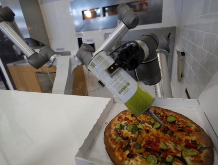 French Try And Give Robots A Pizza The Action