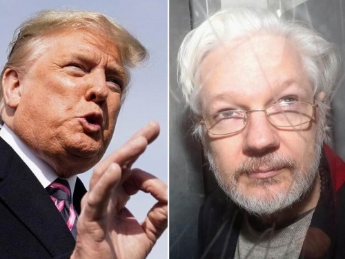Trump promised to pardon Assange