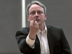 Linus Torvalds mutters about social media