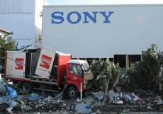 Sony sees off earthquake damage