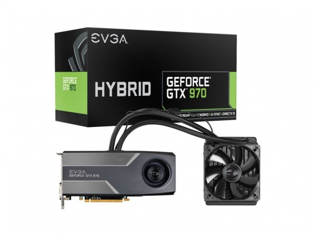EVGA adds Geforce GTX 970 to its Hybrid series lineup