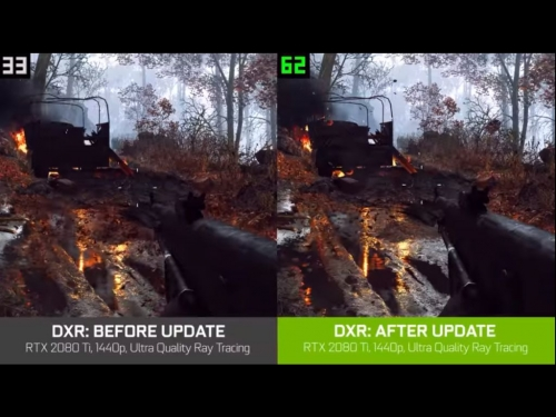 Nvidia says fix for Battlefield V DXR performance is coming