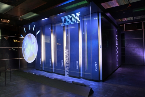 IBM sees revenue drop