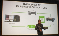 Nvidia keynote focuses on autonomous cars powered by Deep Learning