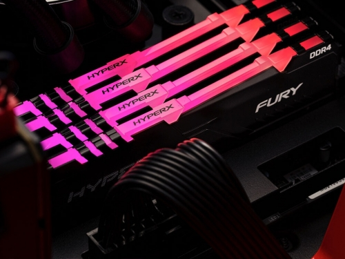HyperX adds new FURY DDR4 RGB memory modules and kits
