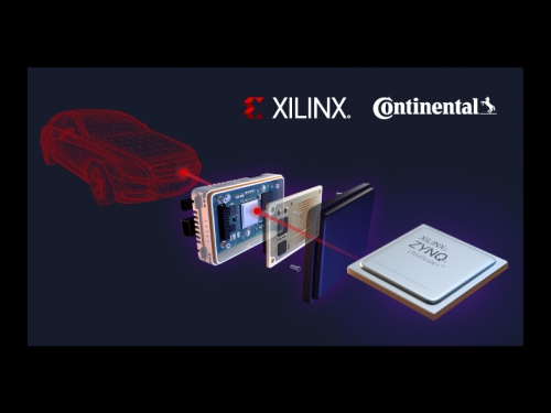 Xilinx and Continental announce 4D radar