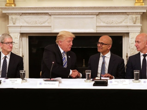 Trump meets big tech again