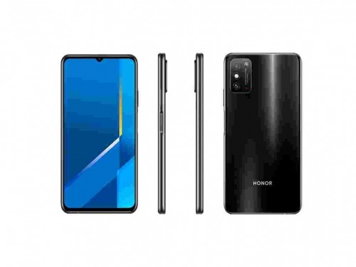Honor X10 Max specifications and renders appear