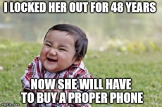 Toddler hacks mum's iPhone and locks her out for 48 years
