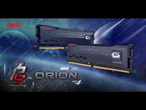 GeIL has ORION RGB Gaming Memory for AMD