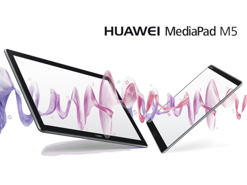 Huawei also unveils two premium MediaPad M5 tablets