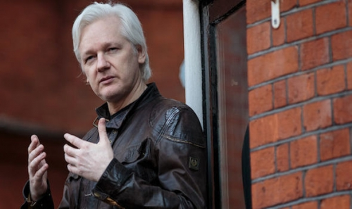 DoJ claims Assange colluded with the Russians in the US elections