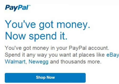 Paypal didn't fix a bug which could drain users accounts
