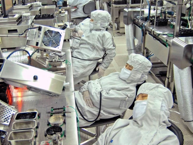 China's IC foundries sitting idle