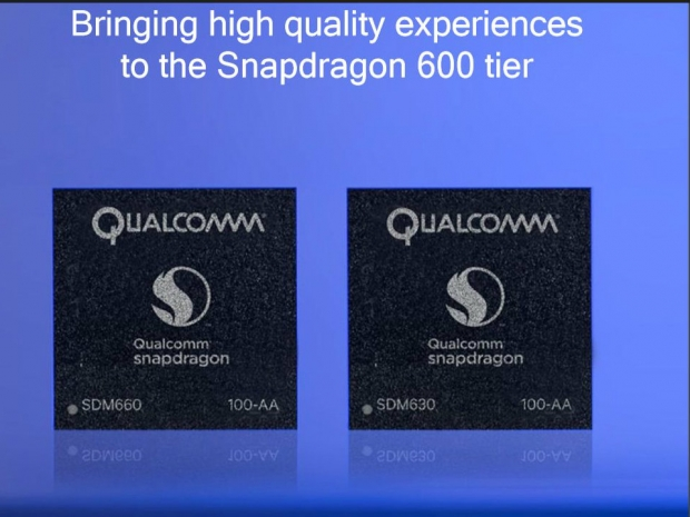 Qualcomm announces Snapdragon 660 and 630