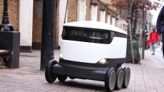 Co-op to use robots in Milton Keynes to deliver groceries.