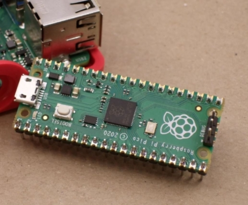 Raspberry Pi Pico microcontroller out