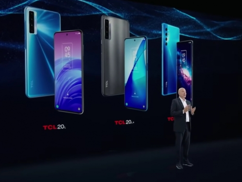 TCL rolls out its 20-series smartphone additions