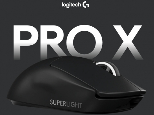 "Logitech G boasts about its PRO X ""superlight"" eSports gaming mouse"
