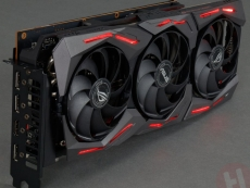 Asus custom RX 5700 series smiles for camera