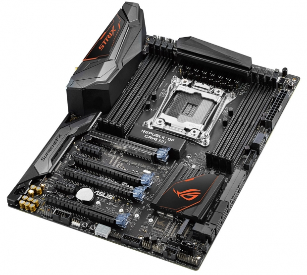 ASUS announces new ROG Strix X99 Gaming motherboard