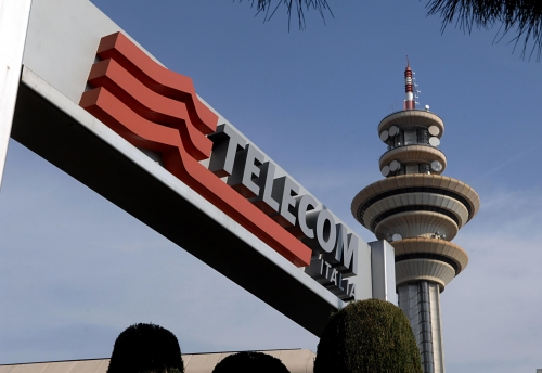 4,500 people axed at Telecom Italia