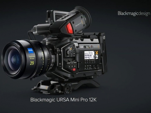 Blackmagic Design reveals a 12k camera