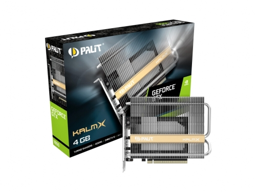 Palit announces passive Geforce GTX 1650