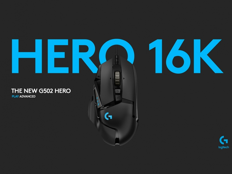 Logitech G502 gets the Hero 16K sensor update