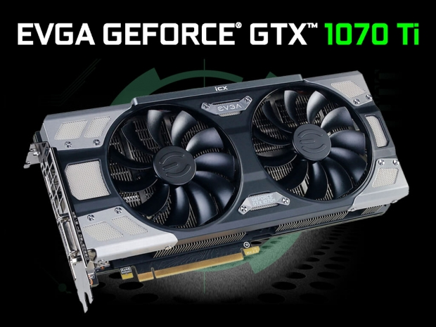EVGA unveils its Geforce GTX 1070 Ti lineup