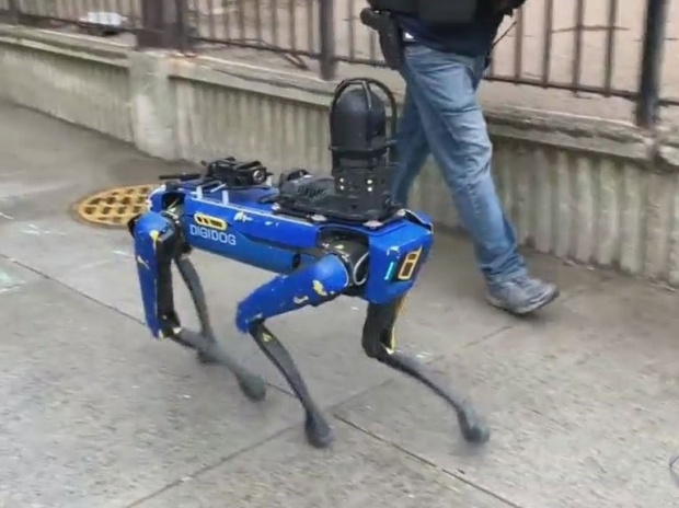 NY Police send back their robot dog