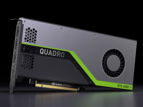 Nvidia announces the new Quadro RTX 4000