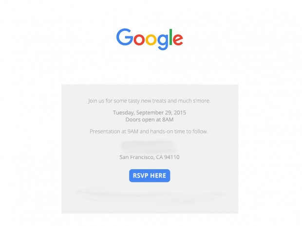 Google sends out invites for September 29 event