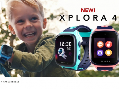 Xplora 4 smartwatch has a deliberate spyhole