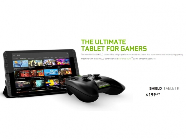 Nvidia re-launches the Shield Tablet as the Shield Tablet K1