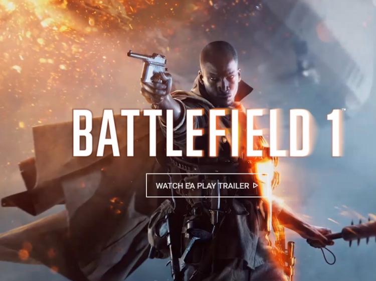 battlefield 1 trailer looks great