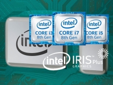 Intel also shows 28W low-power U-series 8th gen CPUs