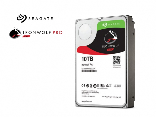 Seagate announces IronWolf Pro 10TB enterprise HDD