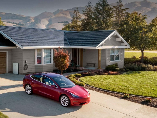 Tesla solar cells are being exported