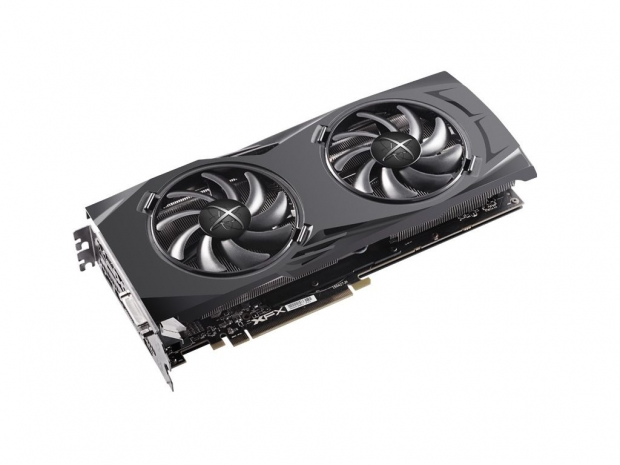 XFX custom RX 480 Double Dissipation detailed