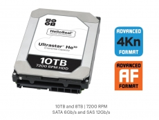 HGST launches the new 10TB helium-filled Ultrastar He10 HDD